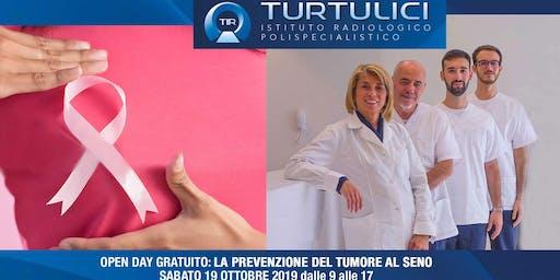 Open Day Gratuito: La prevenzione del tumore al seno