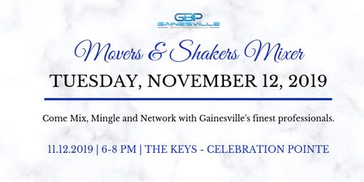 Movers & Shakers Mixer -The Keys