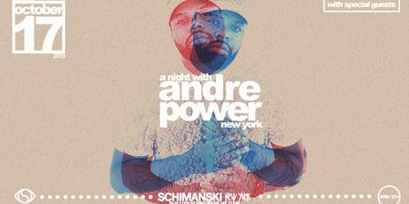 A Night with Andre Power tickets