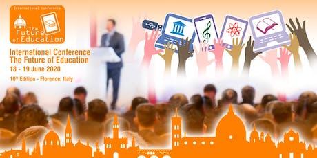 The Future of Education International Conference - 10th edition biglietti
