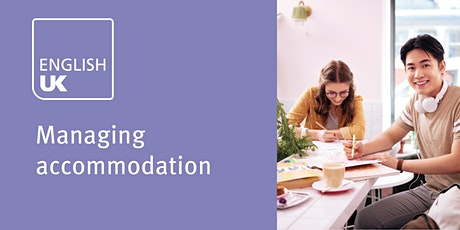Managing accommodation - London, 1 April tickets
