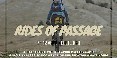 Rides of Passage - Crete // 6 - Day Adventure tickets
