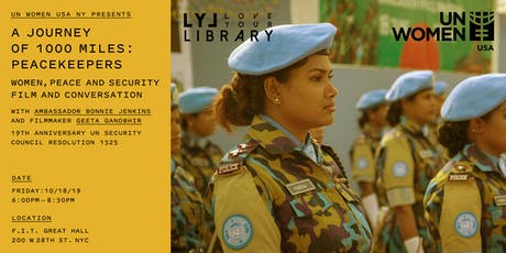 Women, Peace & Security: Film & Conversation tickets