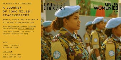 Women, Peace & Security: Film & Conversation