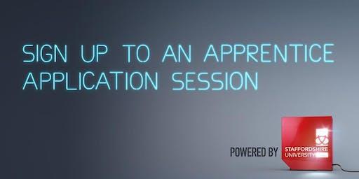 Apprentice Application Day