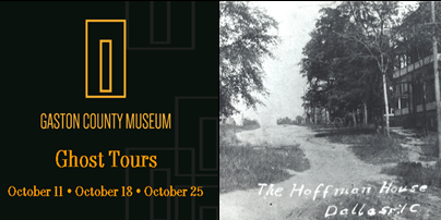Ghost Tours at Gaston County Museum
