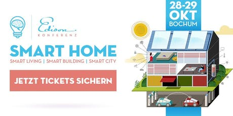 Edison Konferenz Smart Home Tickets