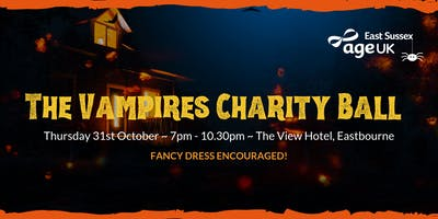 The Vampires Charity Ball proudly presented by Age UK East Sussex