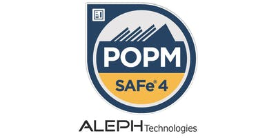 Leading SAFe® Product Owner/ Product Manager (POPM) - Avenel, NJ