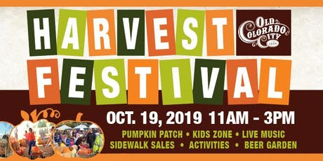 OCC Harvest Festival Volunteers tickets