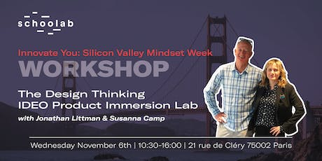 The Design Thinking IDEO Product Immersion Lab tickets