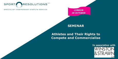 Athletes and Their Rights to Compete and Commercialise tickets
