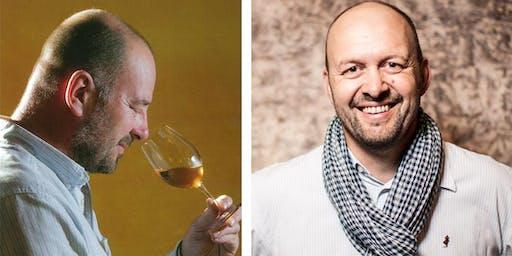 Domaine Filliatreau (saumur) wine tasting with Frederik Filliatreau