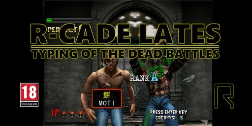 R-CADE Lates Halloween - Typing of the Dead Battles