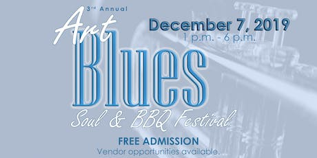 3rd Annual Art, Blues, Soul & BBQ Festival entradas