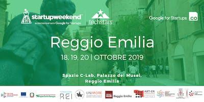 Techstars Startup Weekend Reggio Emilia 2019
