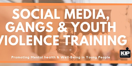 Social Media, Gangs and Youth Violence Training tickets