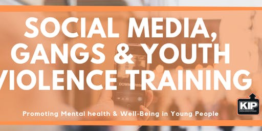 Social Media, Gangs and Youth Violence Training