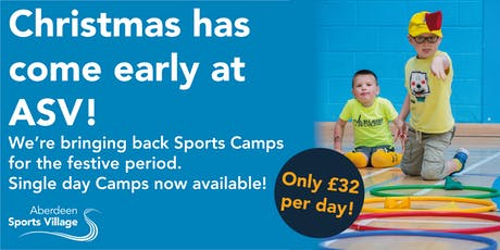 Sports Camps at ASV - Christmas 2019 tickets