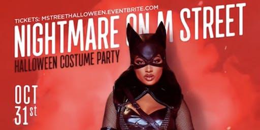 NIGHTMARE ON M STREET (Halloween Party at Ozio)