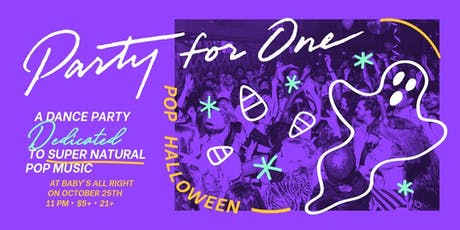 Party For One: Pop Halloween tickets