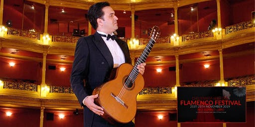 SPANISH CLASSICAL GUITAR with Mauricio Díaz Álvarez and Flamenco Dancer.