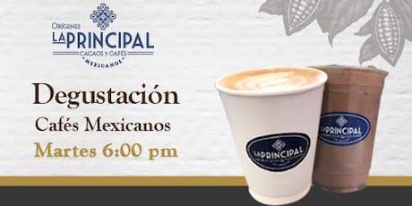 Degustación de Café Mexicano tickets