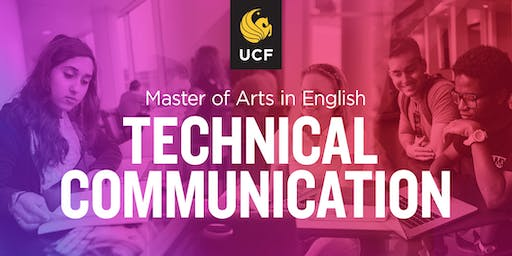 Info Session for MA in Technical Communication