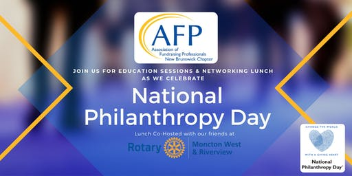 AFPNB - National Philanthropy Day 2019 (15-Nov-19)