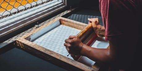 Textile Screen Printing and Upcycle 4 weeks Evening Course tickets