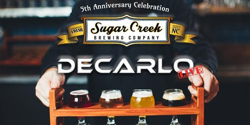 Sugar Creek Brewing Company 5 year Anniversary