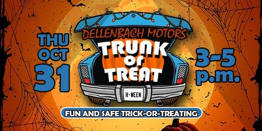 Trunk or Treat at Dellenbach Motors