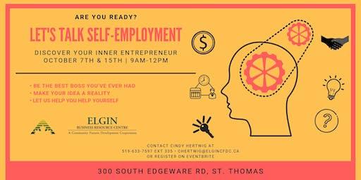 Let's Talk Self-Employment
