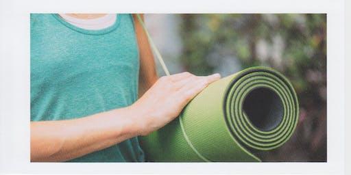 Yoga classes with Hélène