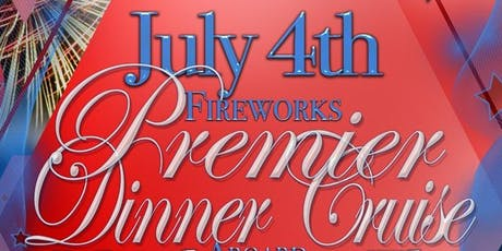 July 4th Fireworks Premier Dinner Cruise Aboard the Manhattan Elite Yacht tickets