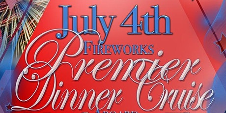 July 4th Fireworks Premier Dinner Cruise Aboard the Manhattan Elite Yacht tickets
