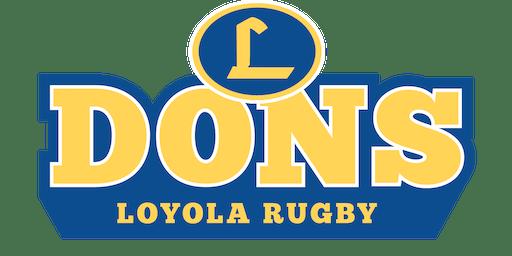 Loyola Rugby Ireland 2020 Fundraiser