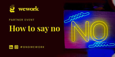 Power Hour: How To Say No tickets