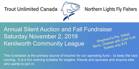 Northern Lights Fly Fishers TUC - 2019 Auction and Fundraiser tickets
