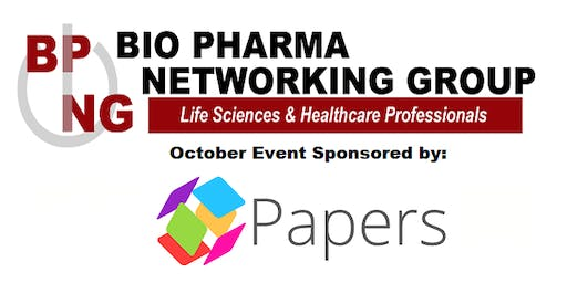 MA Bio Pharma Networking Group: October 2019 at Champions