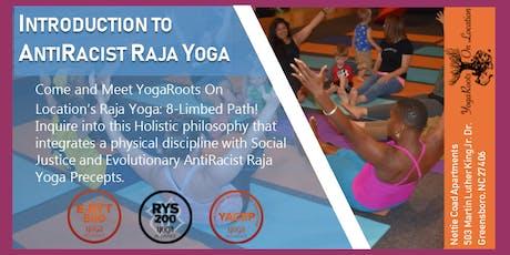 Introduction to AntiRacist Raja Yoga tickets