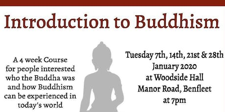 Introduction to Buddhism, 4 Week Beginners Course from Essex Meditation tickets