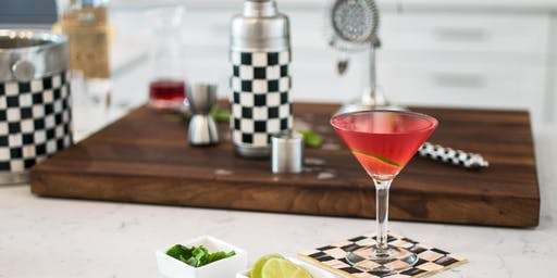 Festive  MacKenzie-Childs Cocktail Demonstration at Aurora Cooks!  5:00 pm