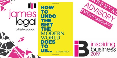How to undo the sh!t the modern world does to us... tickets