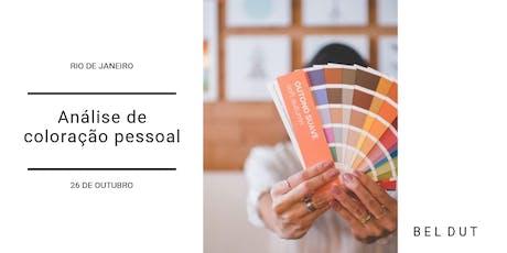 Análise de Coloração Pessoal tickets