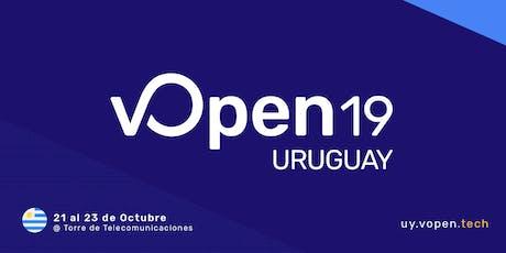 vOpen 19 Uruguay entradas