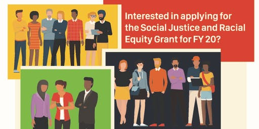Informational Session on Social Justice and Racial Equity Grant