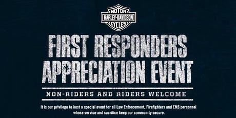Starved Rock Harley-Davidson First Responders Appreciation Event tickets