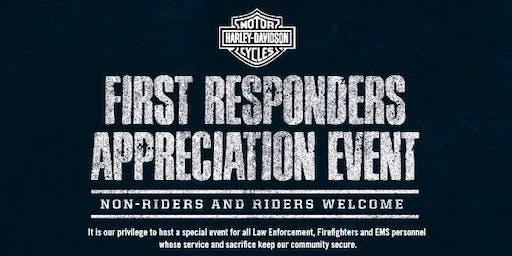 Starved Rock Harley-Davidson First Responders Appreciation Event