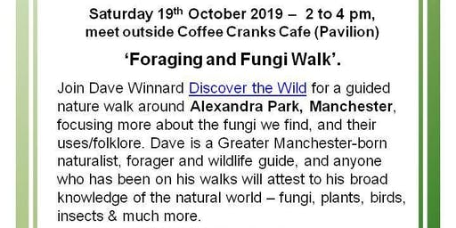Foraging and Fungi walk with Dave Winnard